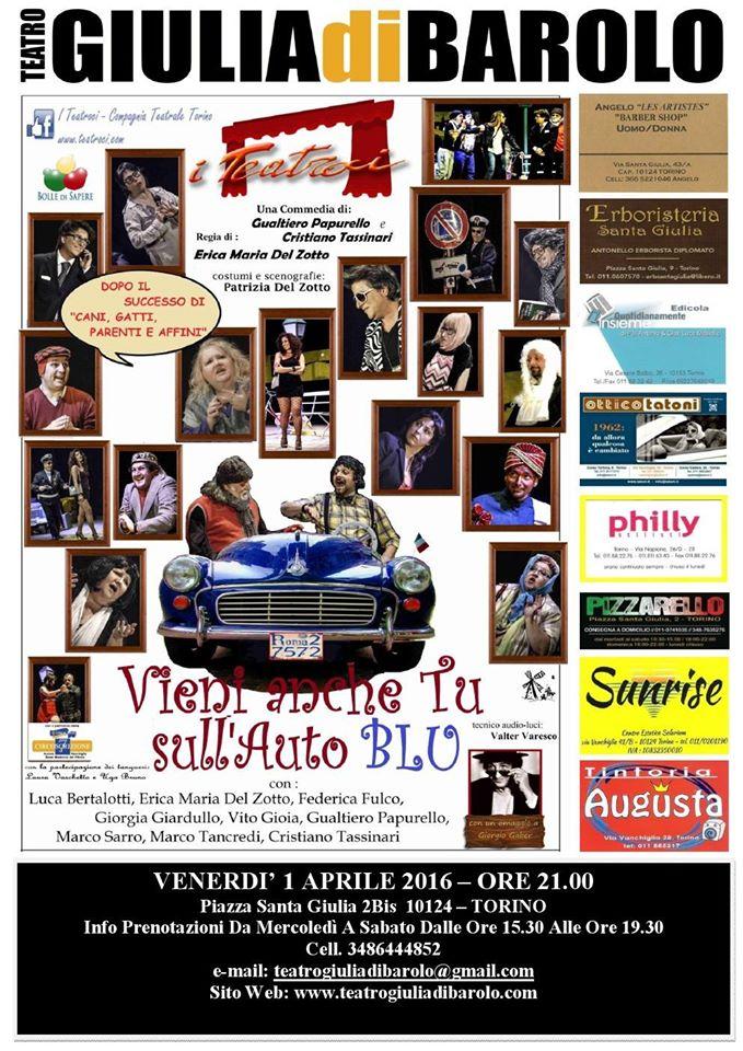LOCANDINA AUTO BLU GIULIA DI BAROLO 1.4.2016